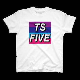 Peck7の自分用TSFIVE2 T-shirts