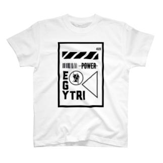 Egyptian Triangle near future T-shirts