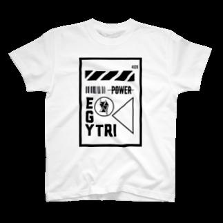 Ï∞n(イオン)のEgyptian Triangle near future T-shirts
