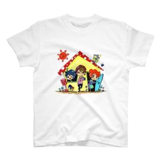 なかよしかぞく T-shirts