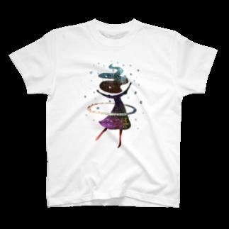 majiodesignのフラフーム T-shirts