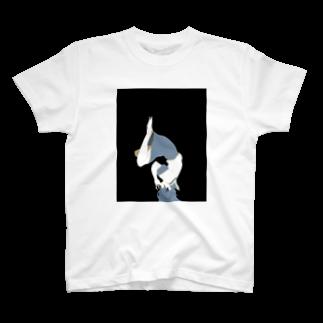 さいとう(半透明黒)のねむるセーラー服 T-shirts