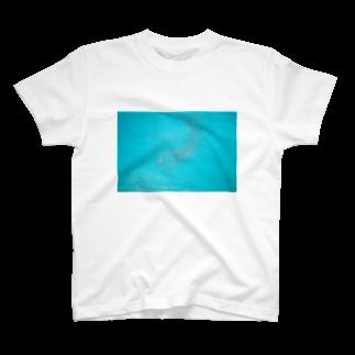 meiyoubuのblue T-shirts