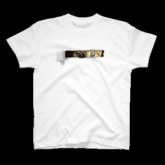 茶番亭かわし屋の深淵のぬっこ #ネコT T-shirts