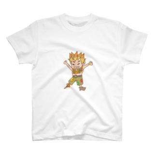 はしゃぐジャンクラット T-shirts