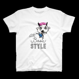 ANSTのanキッキー T-shirts