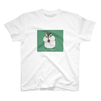 シマリスのマリ T-shirts