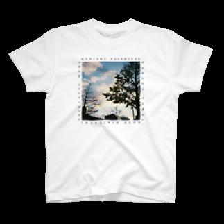 uchu no ko☆の虚弱体質(写真、白) T-shirts