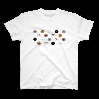 lililililのにゃんにゃんみー大集合! T-shirts
