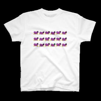 jaguchi4mのお盆(Uターンラッシュ) T-shirts