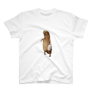 酒好き剥ちゃん T-shirts