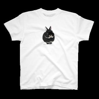 ヒラノマキコの2014.05月うさぎ T-shirts