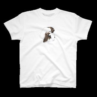 ヒラノマキコの2014.08月うさぎ T-shirts