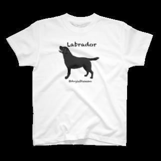 DOGLABのラブラドール @doglabtakako  T-shirts