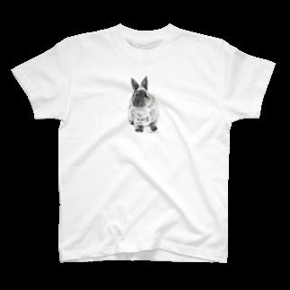 ヒラノマキコの2014.10月うさぎ T-shirts