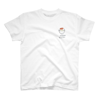 haru_38の納豆ごはん T-shirts