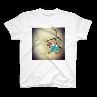 雷鳴 轟のbroken男 T-shirts