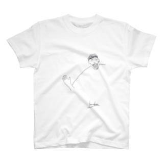 幸男くんの肩幅 T-shirts