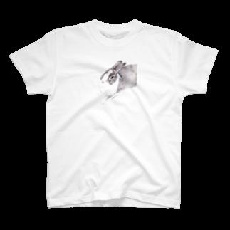 ヒラノマキコの2016.07月うさぎ T-shirts