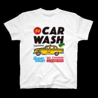 BUSCEMISのCAR WASH T-shirts