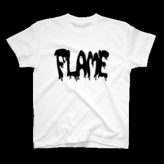 れべるじゅうのロゴBLK T-shirts