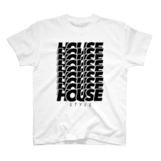 HOUSEHOUSEHOUSE T-shirts
