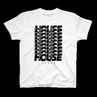 あかそんshop のHOUSEHOUSEHOUSE T-shirts