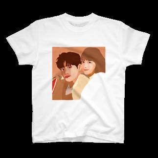 kuriiiの韓国風イラスト T-shirts