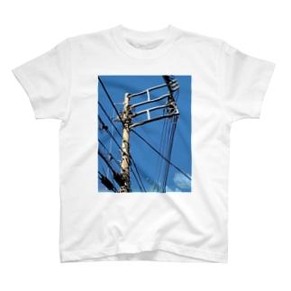 電柱 2A T-shirts
