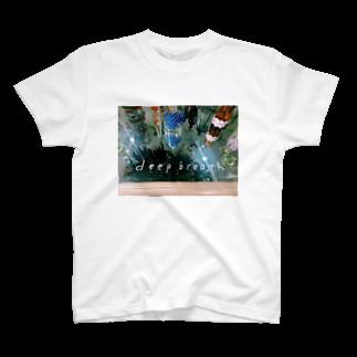 おそねのdeep blueth T-shirts
