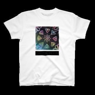 Colorful MoonのCRYSTAL MOON tanabata T-shirts