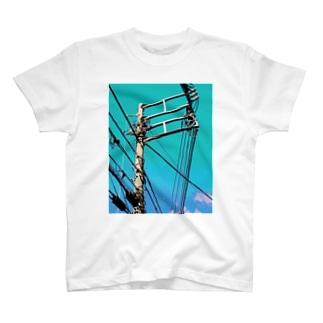 電柱 2C T-shirts