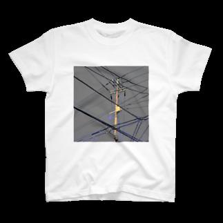 あにろりの電柱 4F T-shirts
