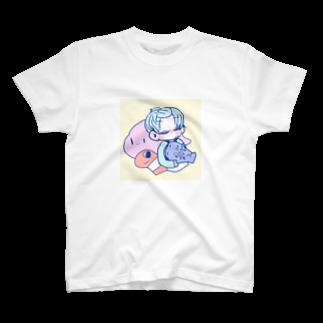 ☀️のうみのいきものとおとこのこ T-shirts