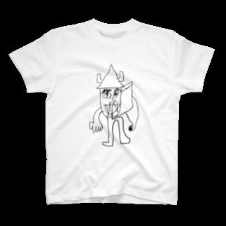 覇嶋卿士朗猿手品サンダークリムゾンじアまリーズ血褐色男爵ゾグザグゾクザギズグゾズゾノボラグラルゴンズのモーモーハウス野郎 T-shirts