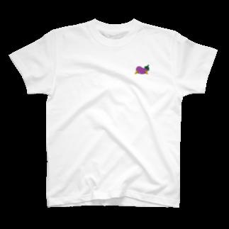 jaguchi4mのお盆(Uターン) T-shirts