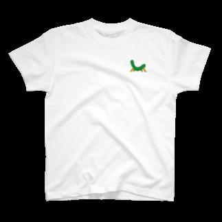jaguchi4mのお盆(帰省ラッシュ) T-shirts