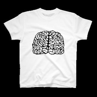 ぶるたるショップのbrain$ T-shirts