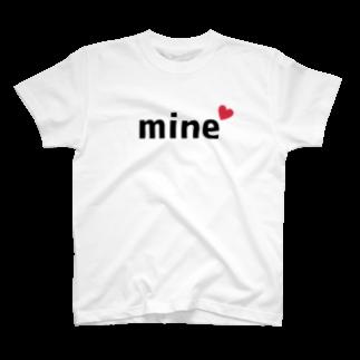 勝手に山口盛り上げ隊のmine(マイン) T-shirts