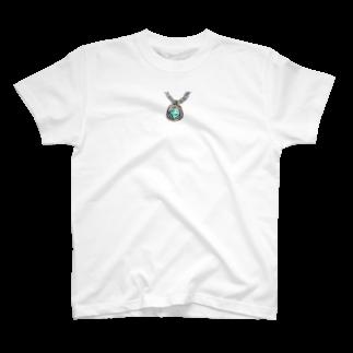 魚風商店の涼やかネックレス T-shirts