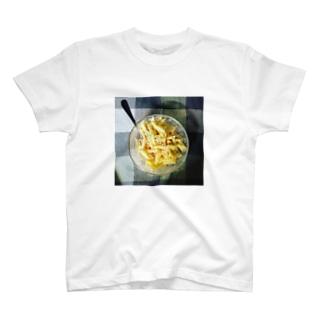 うちの食卓 チーズマカロニ T-shirts