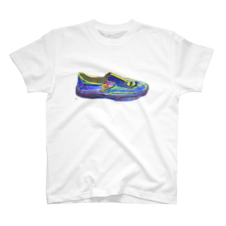 未来への靴 T-shirts
