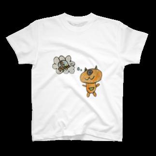 NDANDAのMOUSO T-shirts