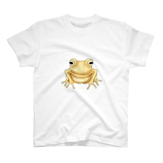 金のカエル T-shirts