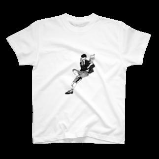 spellのモノクロ T-shirts
