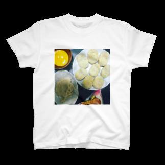 食卓のうちの食卓 コロッケつくろう T-shirts
