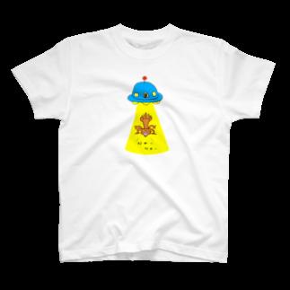 ひよこねこ ショップ 1号店のUFO T-shirts