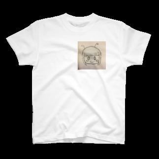 市イラストグッズショップの可愛い宇宙人ちゃん T-shirts