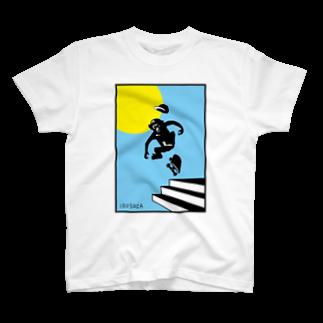 irosocagoodsのMonky SK8 T-shirts