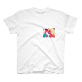 スリット T-shirts